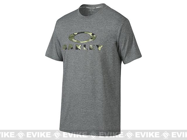 Oakley Stealth O T-Shirt - Heather Grey (Size: X-Large)