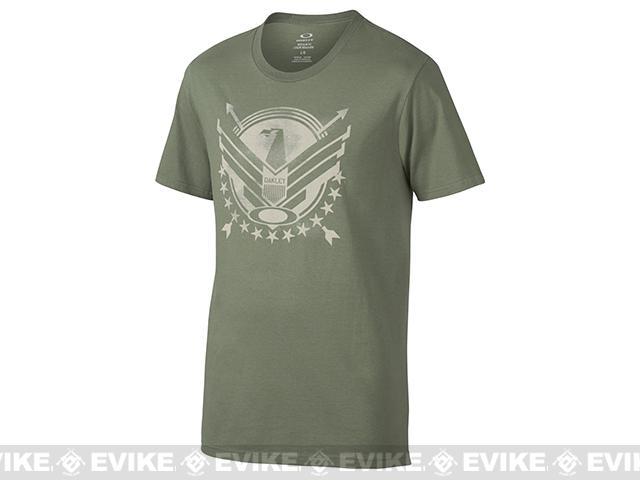 Oakley Freebird T-Shirt - Worn Olive (Size: Large)