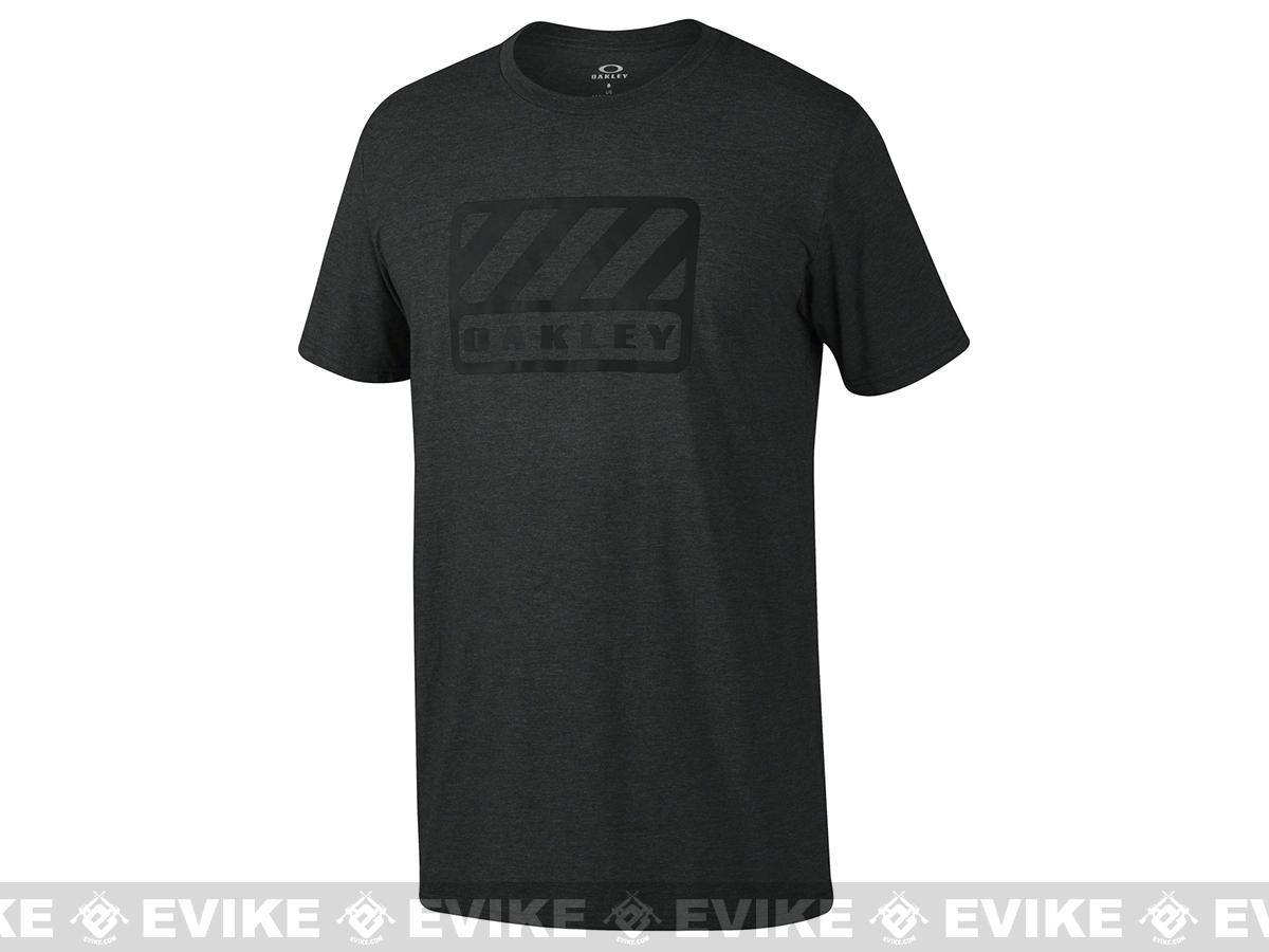 Oakley  50/50 Badge  T-Shirt - Black (Size: Large)
