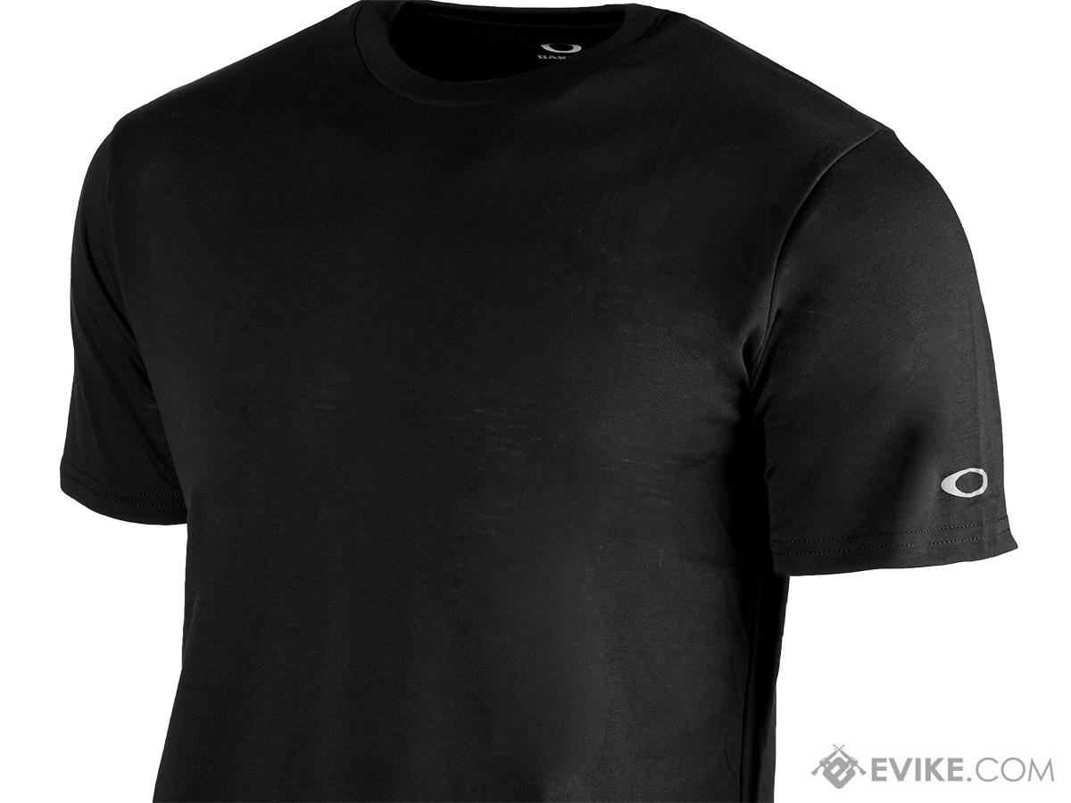 Oakley O-Crew Hydrolix T-Shirt - Black (Size: Medium)