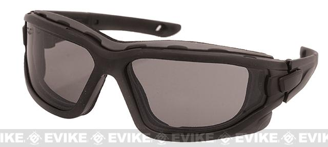 Valken ZULU Tactical Goggles - Black / Smoked