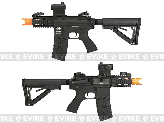 G&G Combat Machine FireHawk Airsoft AEG Rifle Combo Package w/ 7.4v LiPo and Charger