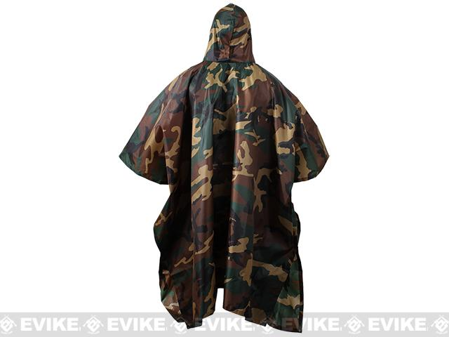 Rothco G.I. Type Military Rip-Stop Poncho - Urban Digital
