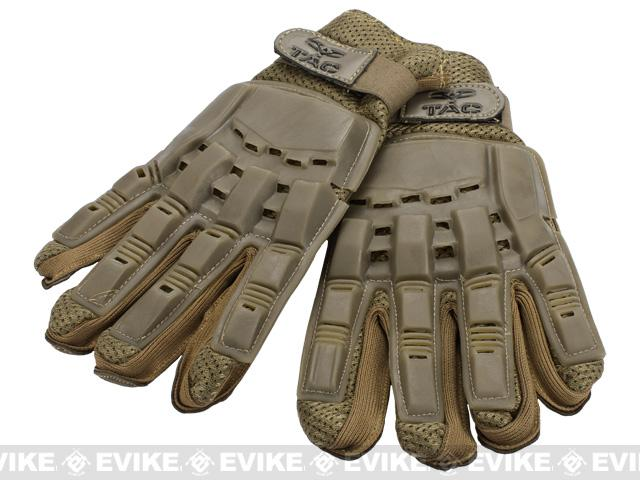 Valken Full Finger Tactical Gloves - Tan / Large