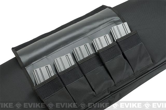 Evike Custom Gun Case- Single Soft 36 Tactical Rifle Bag - Black