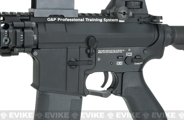 Evike.com G&P Rapid Fire II Airsoft AEG Rifle w/ QD Barrel Extension - Blank Receiver (Package: Gun Only)