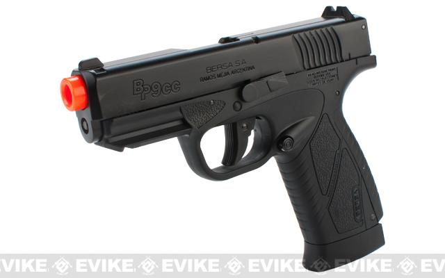 z BERSA BP9CC Airsoft CO2 Non-Blowback Gas Pistol by ASG
