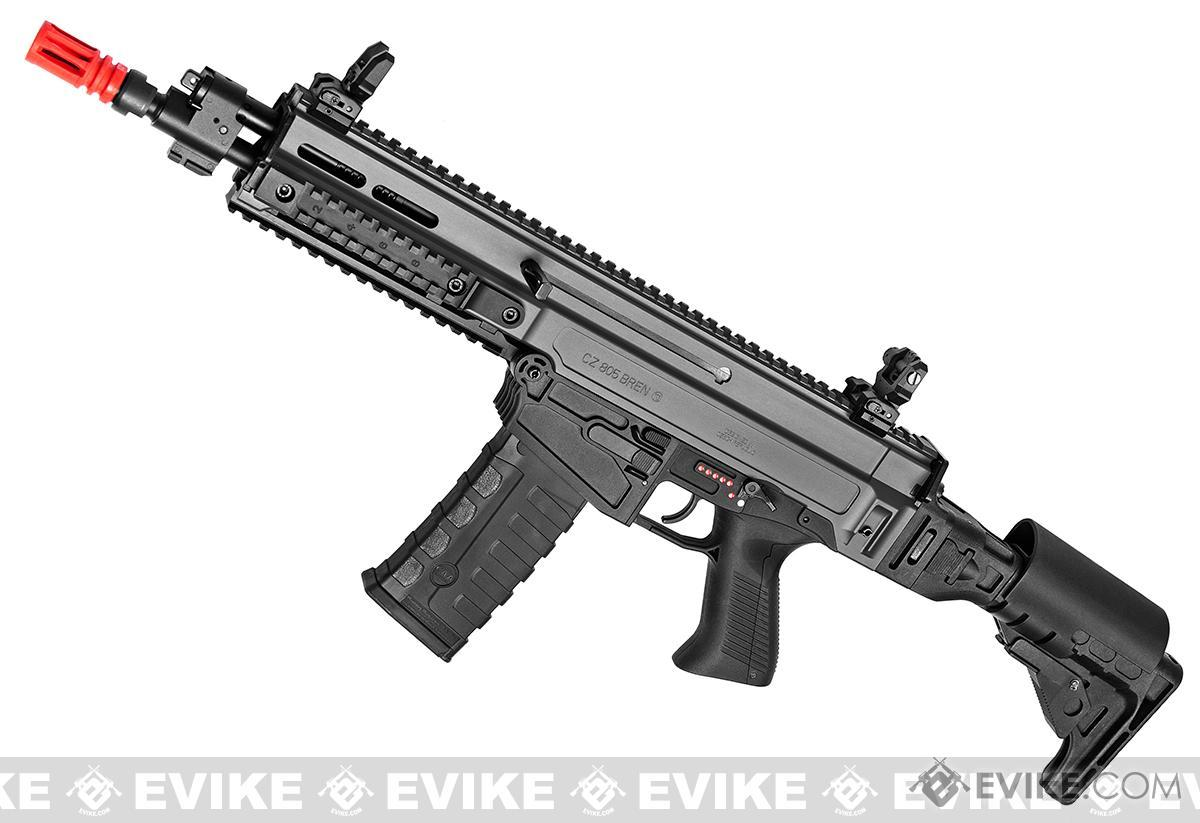 ASG Fully Licensed CZ 805 Bren-A2 Carbine Airsoft AEG (Color: Two-Tone Grey)