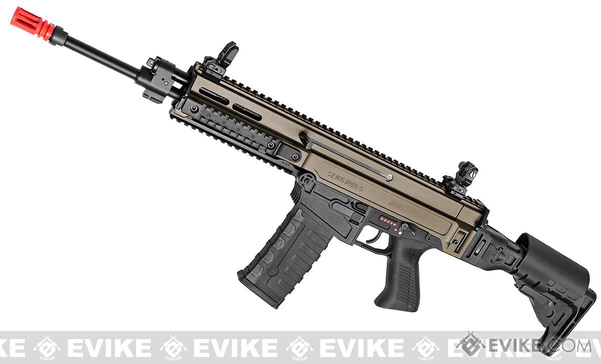 ASG Fully Licensed CZ 805 Bren-A1 Carbine Airsoft AEG - Two-Tone Desert