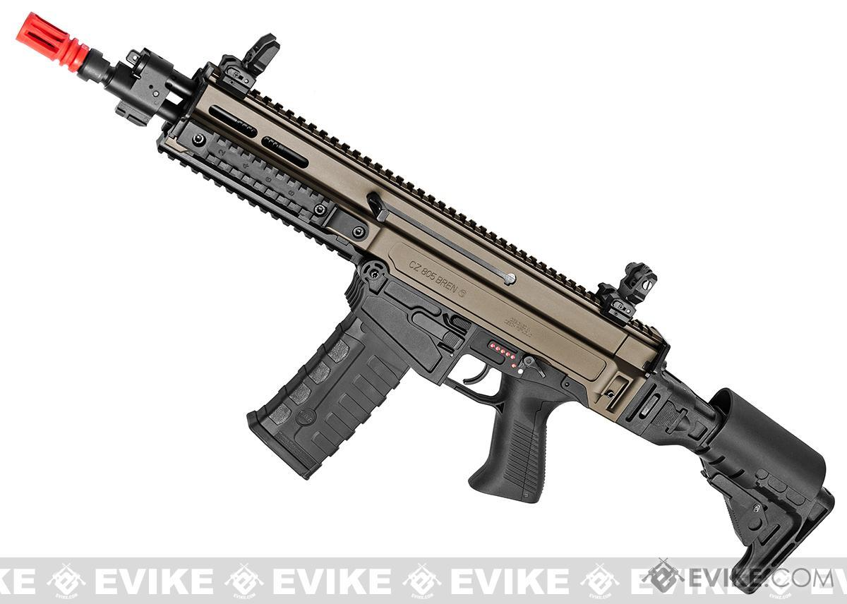 ASG Fully Licensed CZ 805 Bren-A2 Carbine Airsoft AEG - Two-Tone Desert