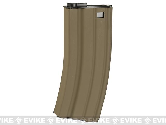 WE-Tech 300rd High Cap Magazine for M4 / M16 / SCAR / L85 / F2000 Series Airsoft AEG Rifles - Tan