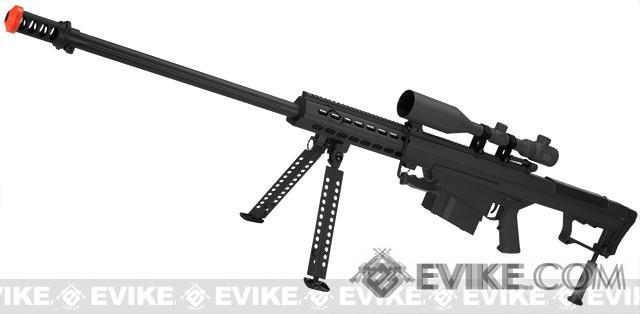 Bone Yard - 6mmProShop Custom Long Range Airsoft AEG Sniper Rifle V.2 (Store Display, Non-Working Or Refurbished Models)
