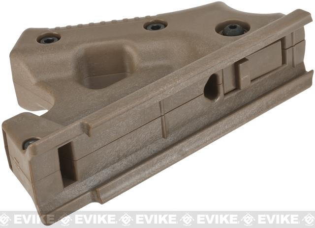 Laylax Custom Ergonomic Canted Foregrip - Tan