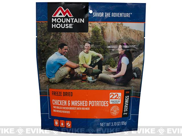 Mountain House Freeze Dried Entree- Chicken Breast and Mashed Potatoes