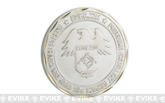 Evike.com 2015 Limited Edition Brass 50mm Collectible Challenge Coin