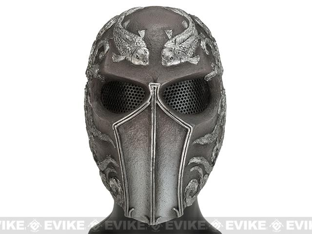 Evike.com R-Custom Fiberglass Wire Mesh Koi Full Face Mask - Tan