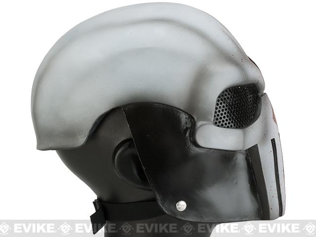 Evike.com R-Custom Fiberglass Wire Mesh Task Master Full Face Mask - Blood Seeker