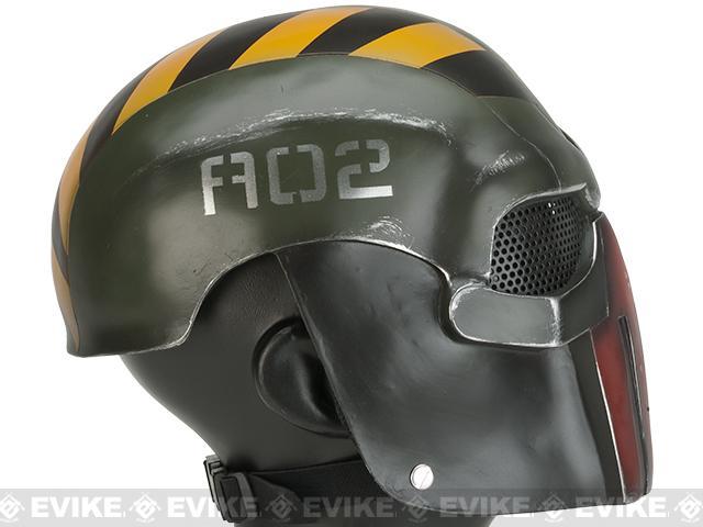 z Evike.com R-Custom Fiberglass Wire Mesh Task Master Full Face Mask - Robo