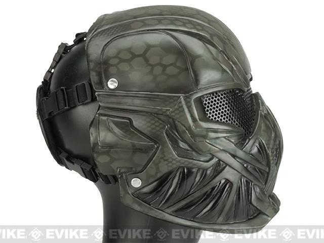 Evike.com R-Custom Fiberglass Wire Mesh Viper Full Face Mask - Woodland