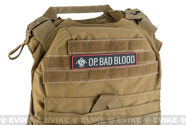 Evike.com Operation Bad Blood 2015 PVC Morale Patch - Banner