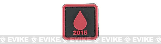 Evike.com Operation Bad Blood 2015 PVC Morale Patch - Droplet