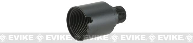 Angel Custom Silencer Adapter for GHK AK Series ( 24mm + to 14mm - )