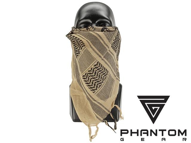 Phantom Gear Tactical High Speed Operator Mask - Desert Tan Shemagh