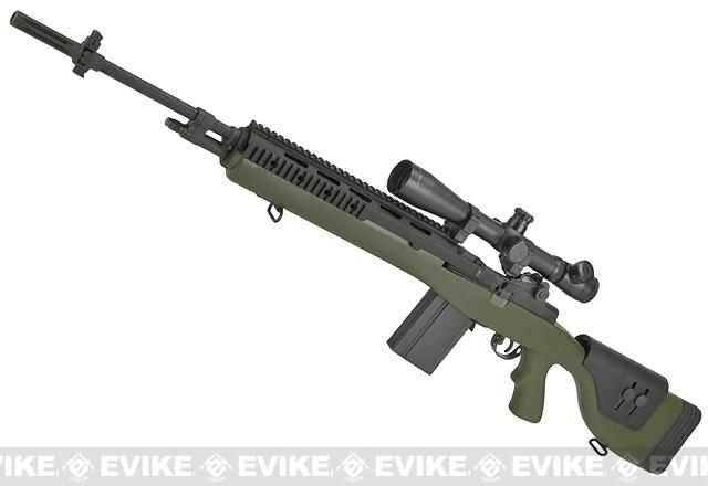 Pre-Order ETA February 2017 G&P M14 DMR Custom Airsoft AEG Sniper Rifle - Foliage Green (Package: Gun Only)