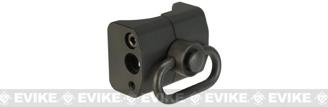 King Arms Sling Mount for Airsoft P90 AEGs with QD Swivel Sling Ring