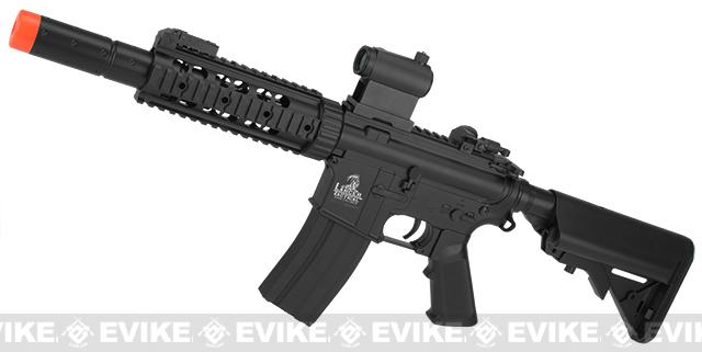 Bone Yard - Lancer Tactical LT-15 CQB-SD M4 Airsoft AEG Carbine (Store Display, Non-Working Or Refurbished Models)