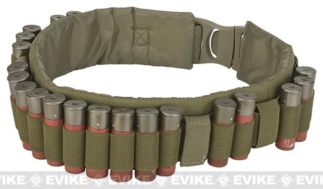 Emerson Tactical Shotgun Shell Belt / Bandoleer - Coyote Brown