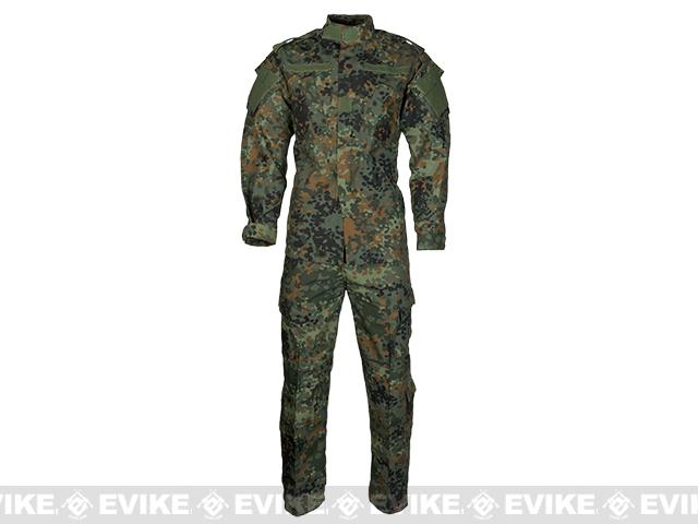 Emerson R6 German BDU Field Uniform Set - Flecktarn / German Camo (Size: Large)
