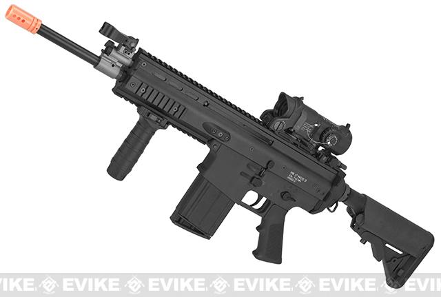 WE-TECH MK17 Spec. Ops Variant Seal Custom Gas Blowback Airsoft Rifle - Black