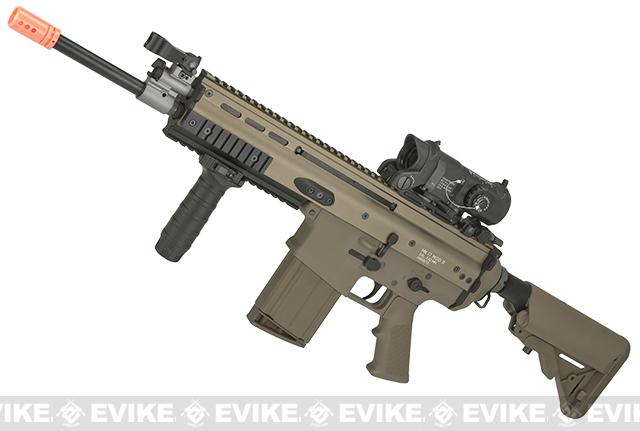 WE-TECH MK17 Spec. Ops Seal Custom Gas Blowback Airsoft Rifle - Tan