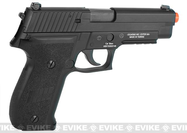 SIG Sauer Full Metal P226 Airsoft Gas Blowback Pistol by KJW