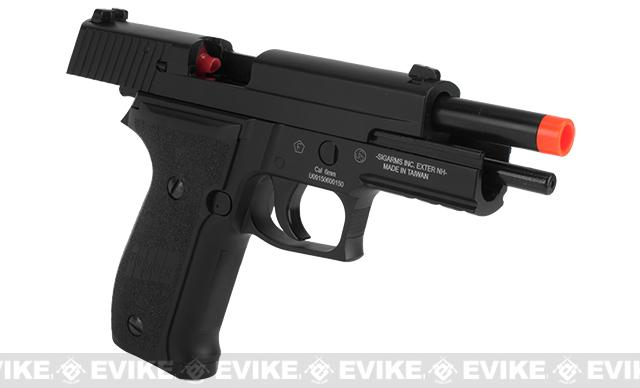 SIG Sauer P226 Navy Airsoft Gas Blowback Pistol by KJW