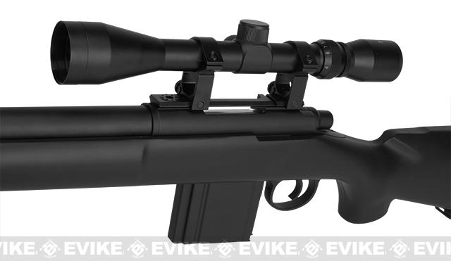 Hawk Arms PSG-24 Professional Series Airsoft Bolt Action Sniper Rifle - Black