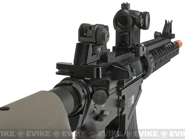 z BOLT Airsoft BR-47 Railed B.R.S.S. Full Metal EBB Airsoft AEG Rifle - Tan
