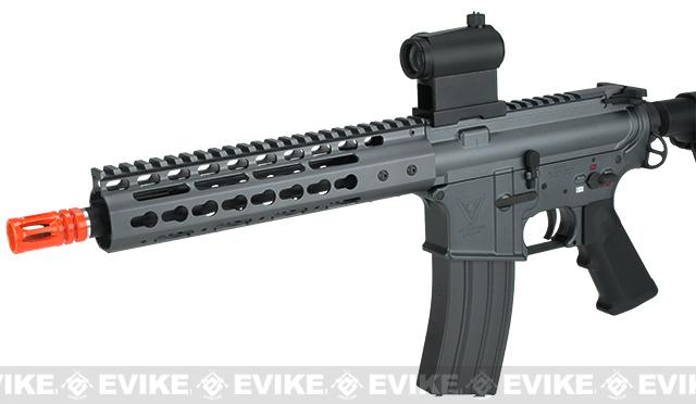 JAG Custom Shop Platinum Edition Stealth CQB-R Airsoft AEG - Stealth Gray