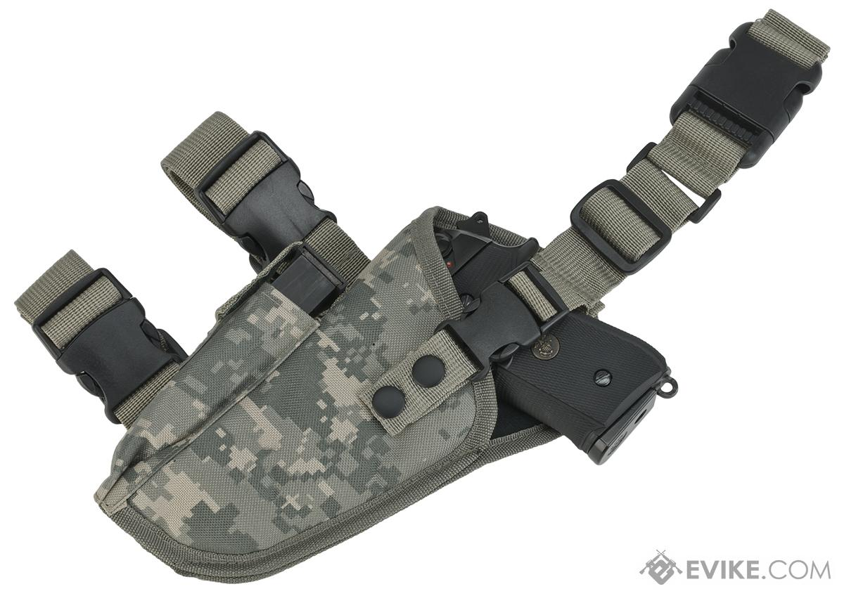 Matrix Deluxe Tactical Drop Leg Holster - Left (ACU)