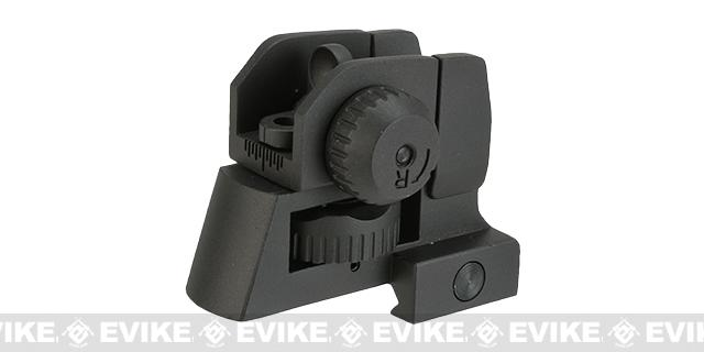 Krytac Full Metal Rear Sight for Airsoft AEG Rifles