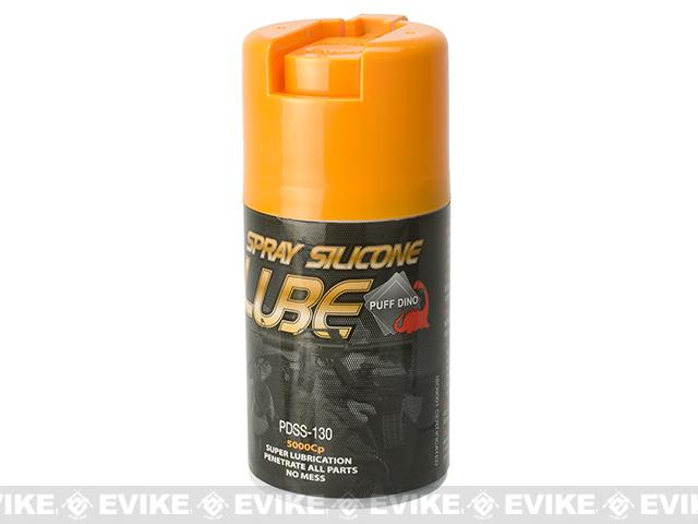 Puff Dino Silicon Spray Lubrication Oil - 130 ML