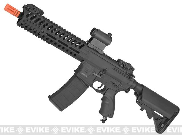 z V12 Tactical M4 Optima BLOCK-I Electro-Pneumatic Airsoft Rifle by Valken - Black
