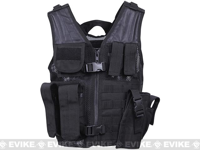 Rothco Childrens Tactical Vest - Black