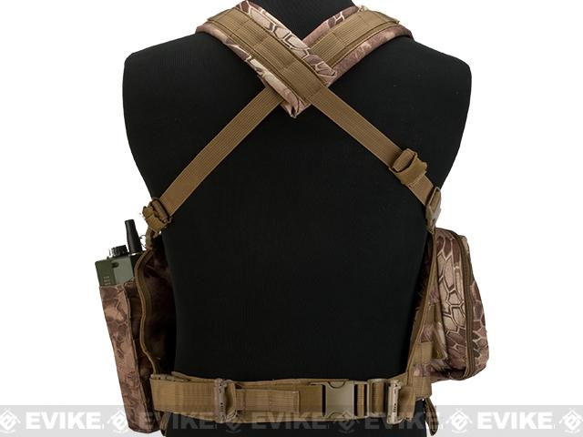 Matrix Special Operations RRV Style Chest Rig - Dark Arid Serpent