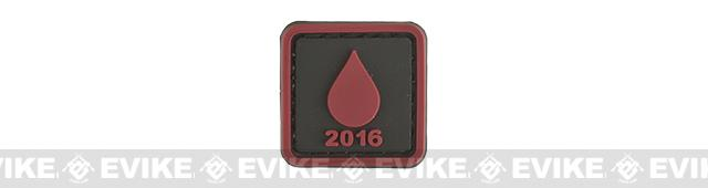 Evike.com Operation Bad Blood 2016 PVC Morale Patch - Droplet