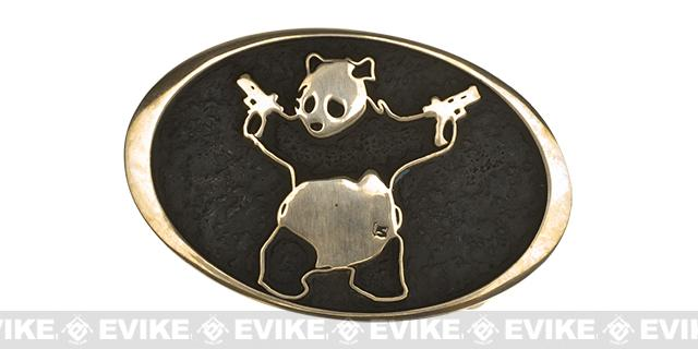 Salient Arms Brass A$$ Panda Belt Buckle