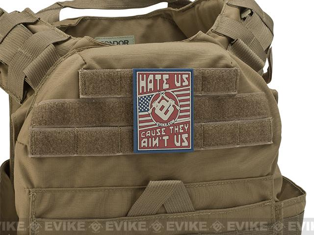 Evike.com Hate Us Cause They Ain't Us PVC Morale Patch - Full Color