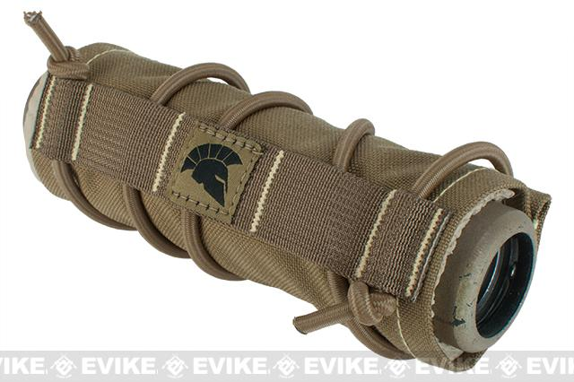 Griffon Industries Heat & Mirage Mitigation System Middy for 7.5 Suppressors - Coyote