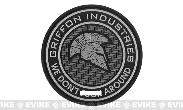 Griffon Industries Team Griffon PVC Patch - White